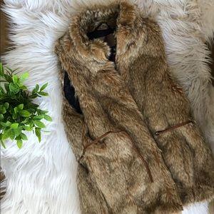 Zara kids | Faux fur vest